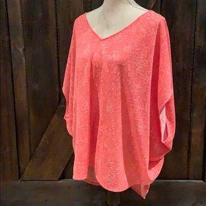 Ava&Viv coral loose fit t-shirt